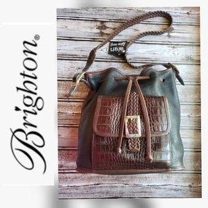 ❤BRIGHTON ❤ Vintage Brighton Bucket Handbag